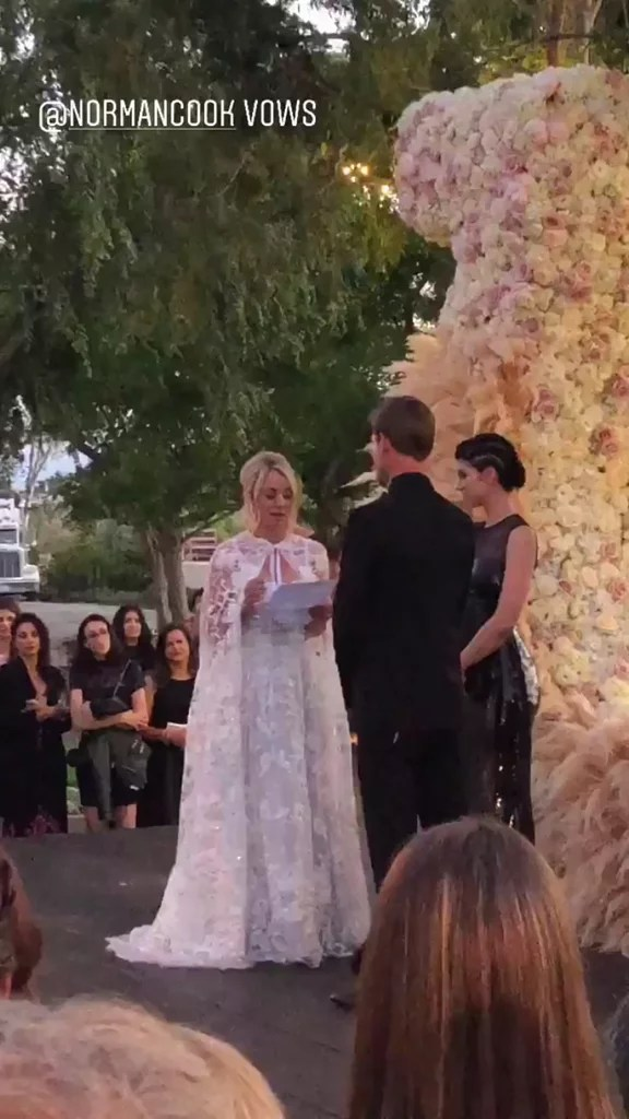 Kaley Cuoco and Karl Cook Wedding Pictures   POPSUGAR Celebrity
