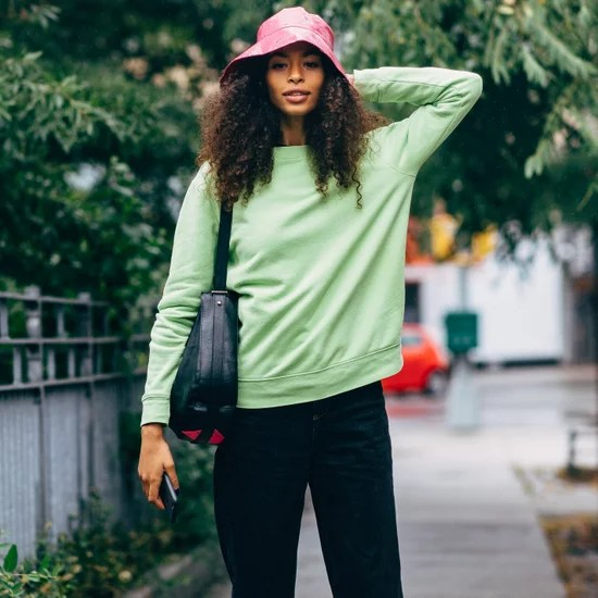 How to Style the Clothes You Already Have   POPSUGAR Fashion How to Wear a Bucket Hat 2018