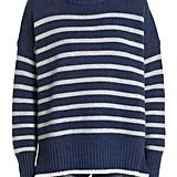 La Ligne Marin Stripe Cashmere & Wool Sweater
