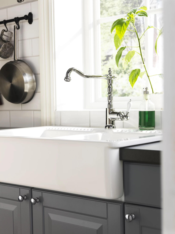 farmhouse style kitchen faucet get