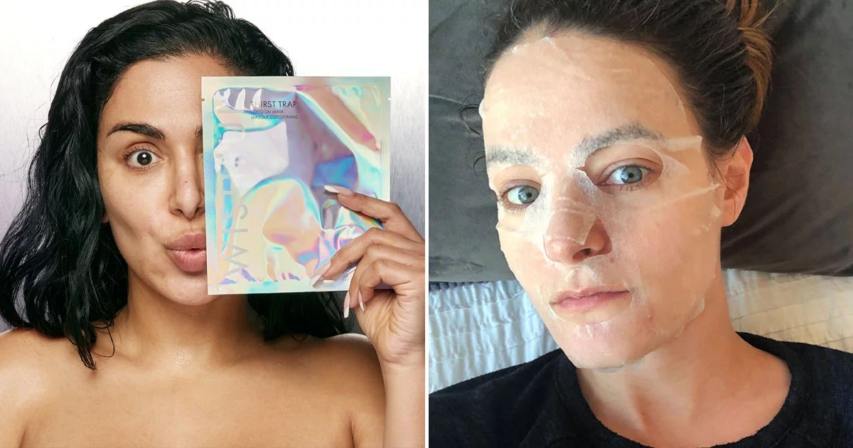 Huda Kattan's New Wishful Thirst Trap Cocoon Mask Totally Soothed My Dry, Dehydrated Skin