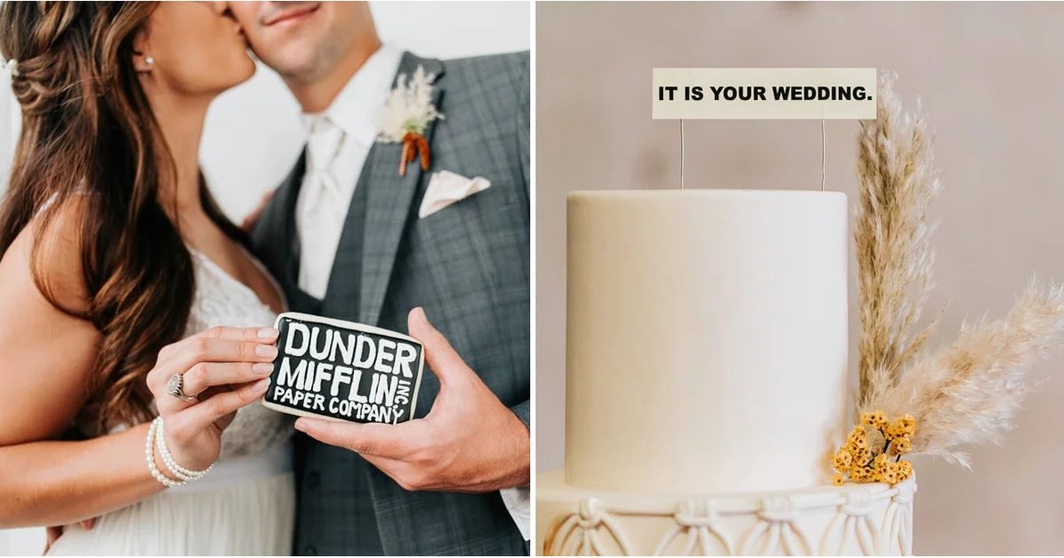 This Office-Themed Wedding Deserves ALL of Michael Scott's Dundies