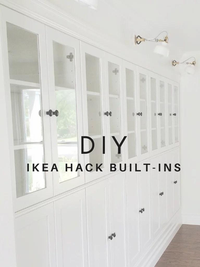 Diy Ikea Built In Bookcases Popsugar Home
