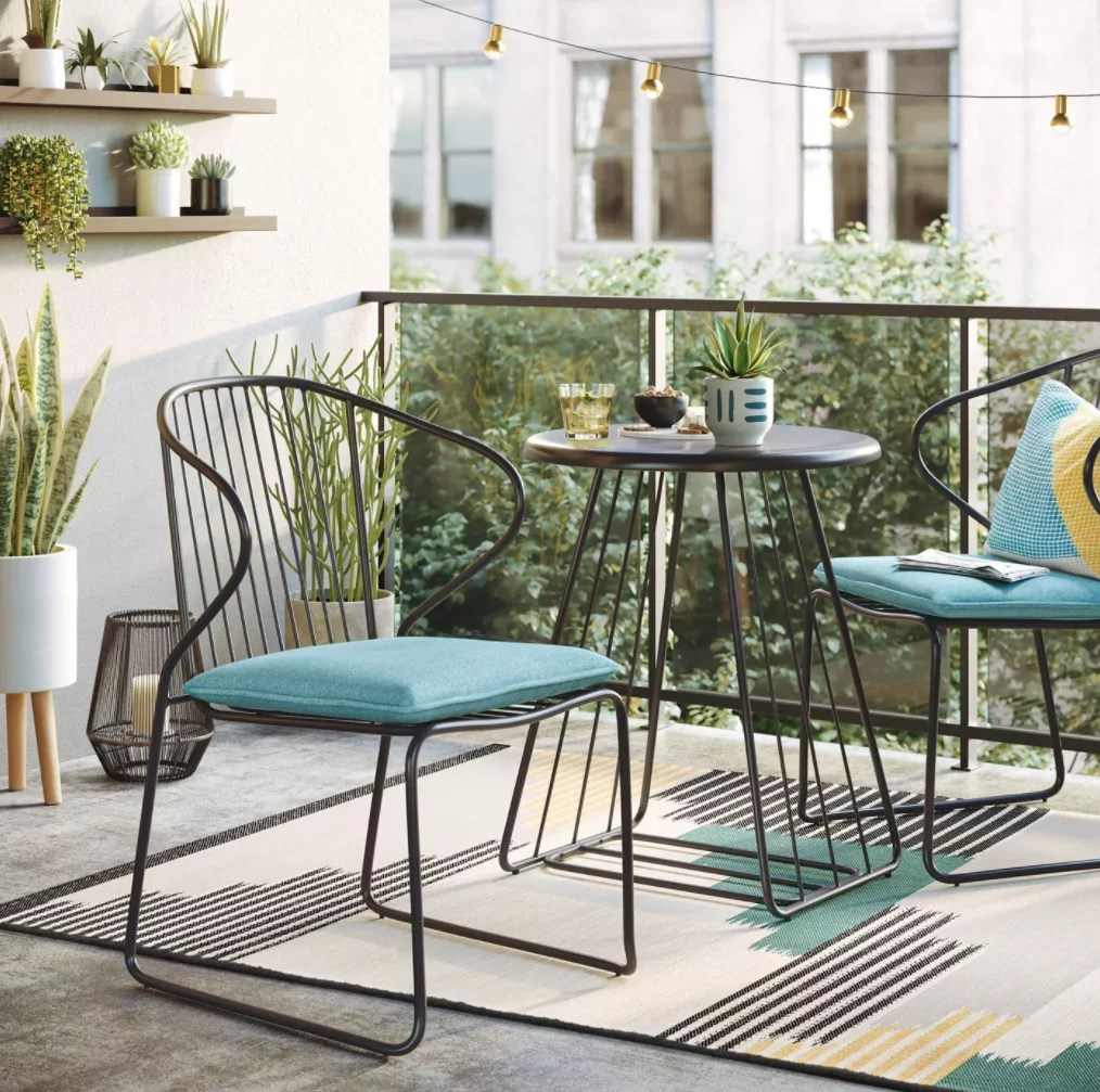 https www popsugar com home photo gallery 48348916 image 48348954 project 62 3pc ulla wire patio bistro set amp
