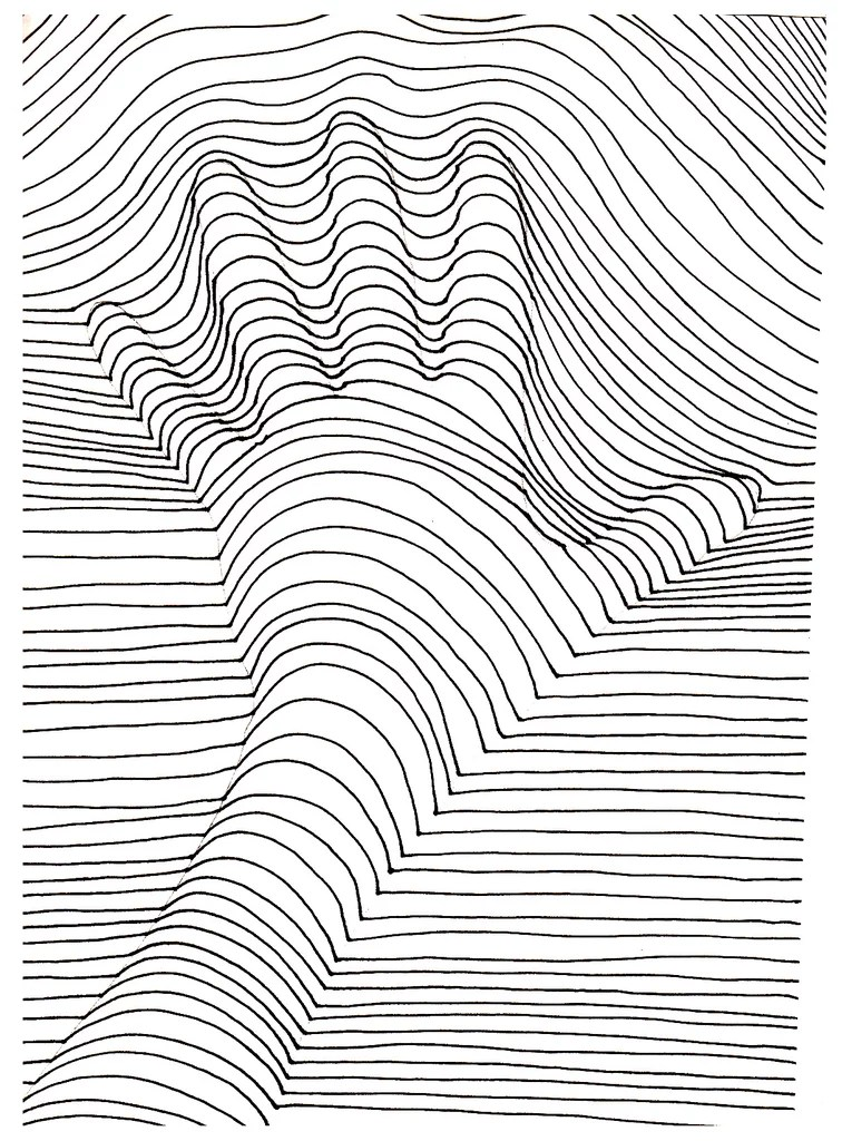 get the colouring page hand lines  free printable adult