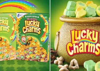 Lucky Charms Has a New Gold Coin Marshmallow For St. Patrick's Day, and It Looks Magically Delicious
