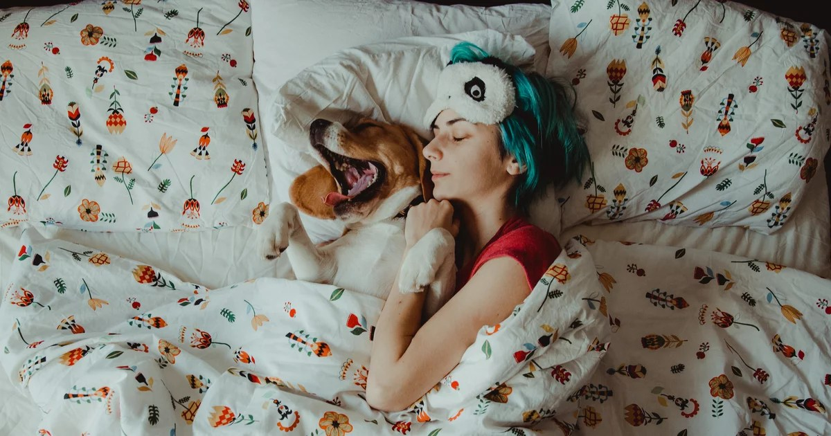 Should You Really Spend the Night Cuddling Your Dog? Vets Share the Pros and Cons