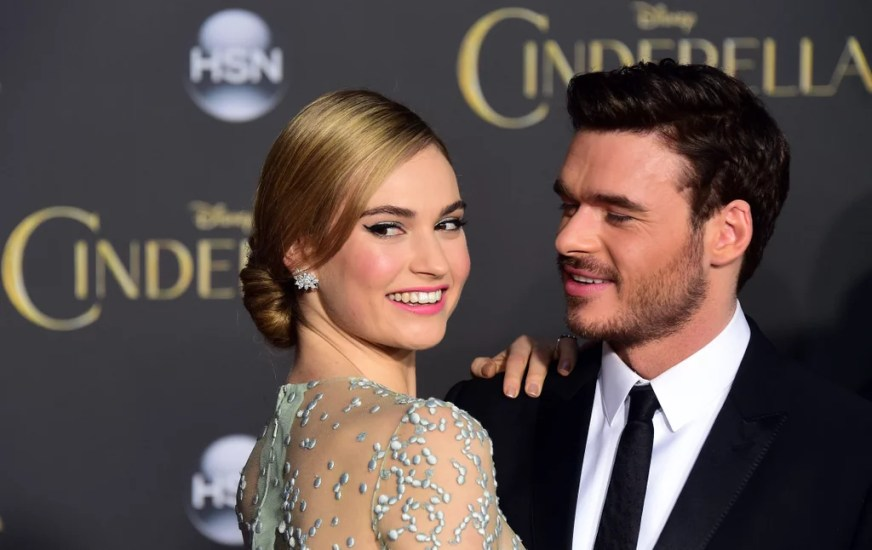 Cinderella's Richard Madden and Lily James Together ...
