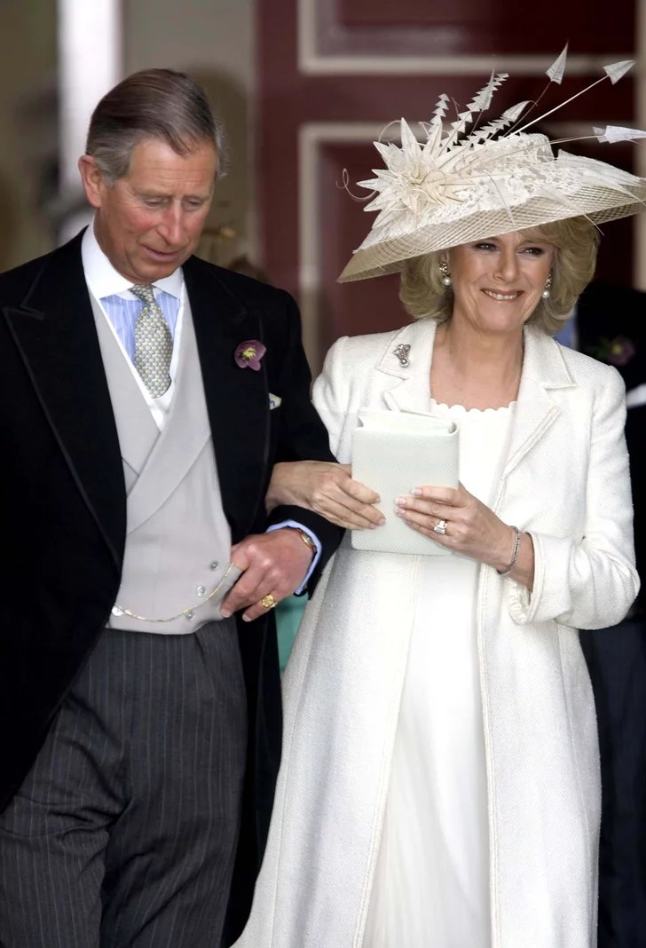 Camilla Parker Bowles 2005 Royal Wedding Dresses