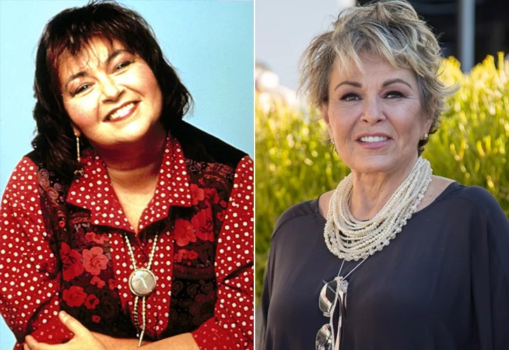 Roseanne Cast Then And Now