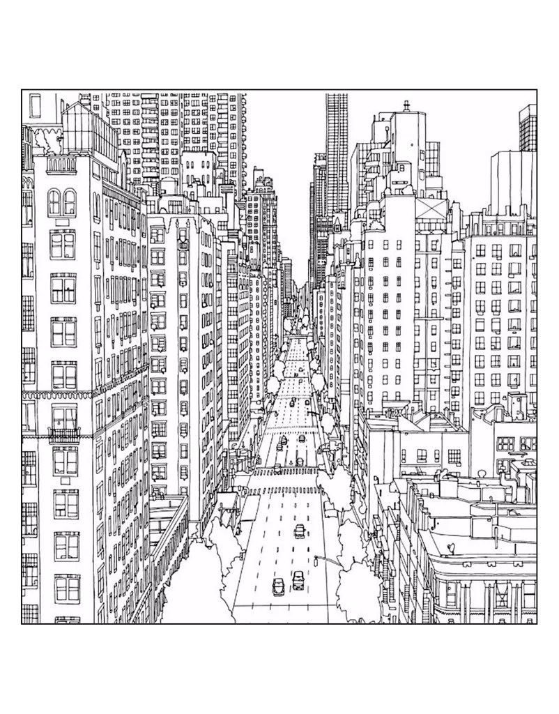 Get The Coloring Page New York City Free Coloring Pages For