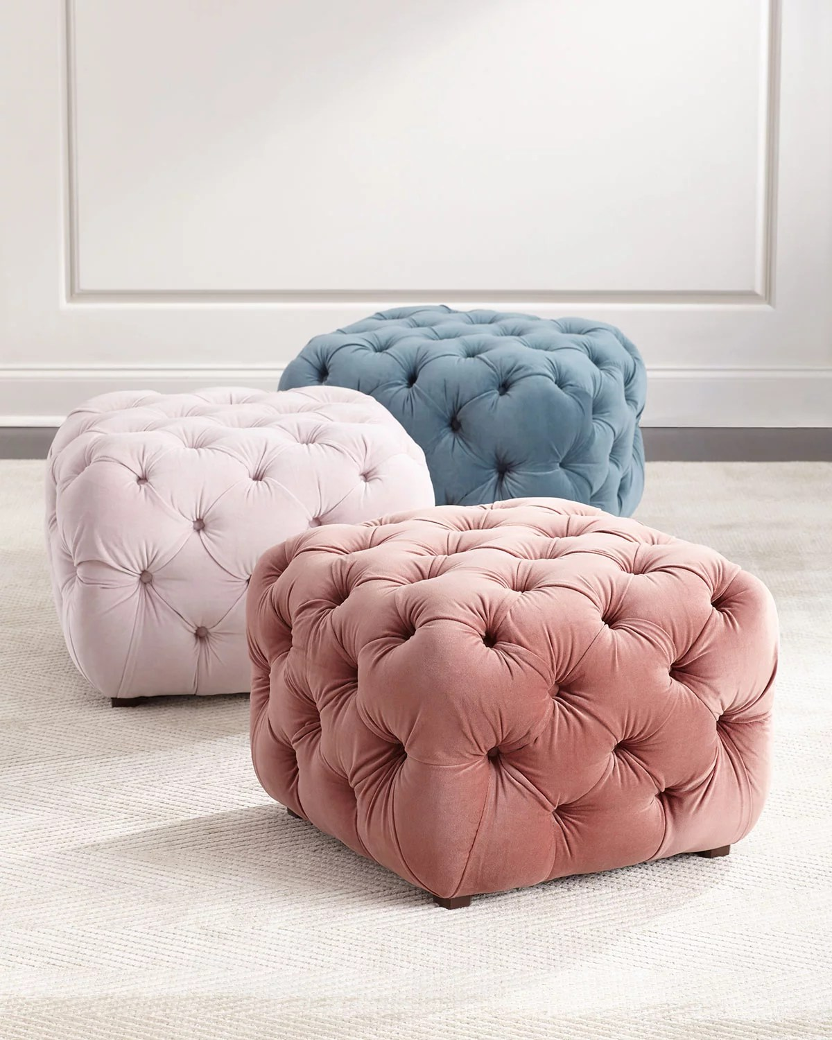 Busby Tufted Cube Ottoman If You Don T Own Any Furniture