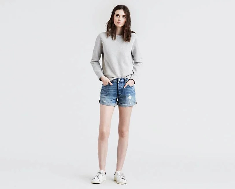 Best Jean Shorts For Moms