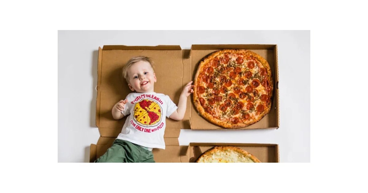 Remember the Baby Whose First Year Was Measured in Pizza Slices? Effectively, He's 2 Whole Pies Old Now!