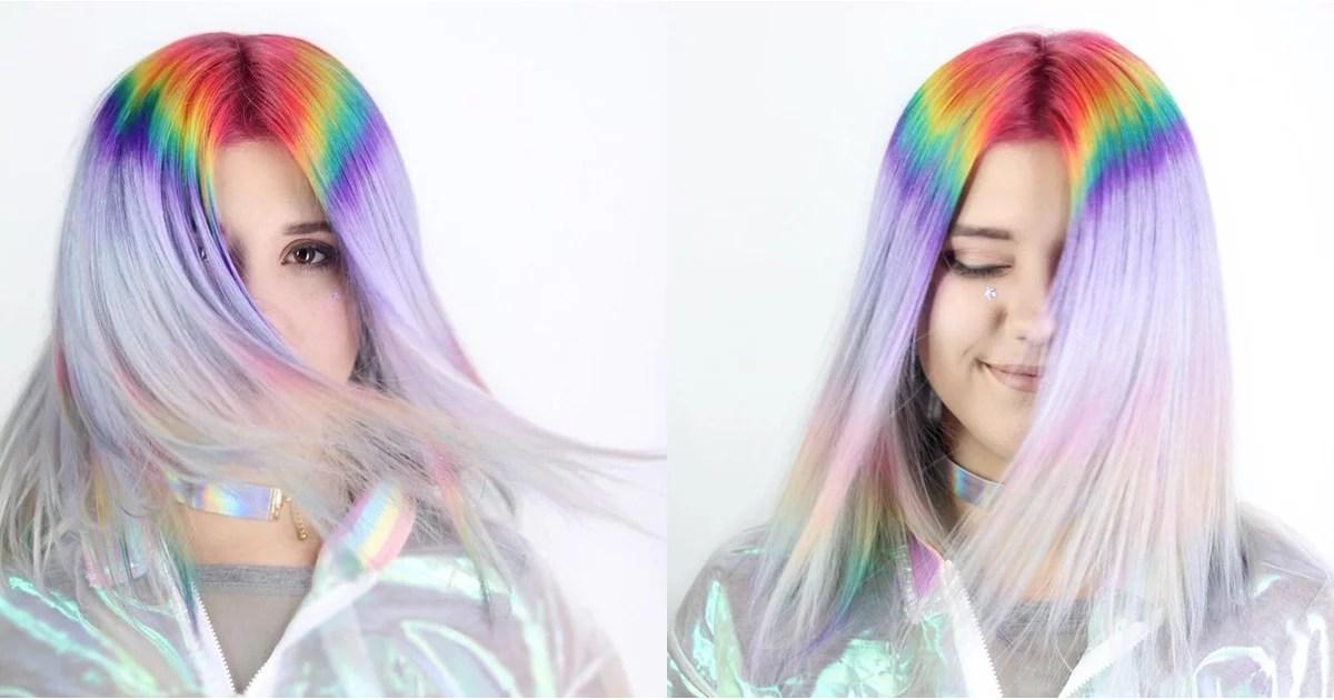 Prism Root Hair Color Trend POPSUGAR Beauty