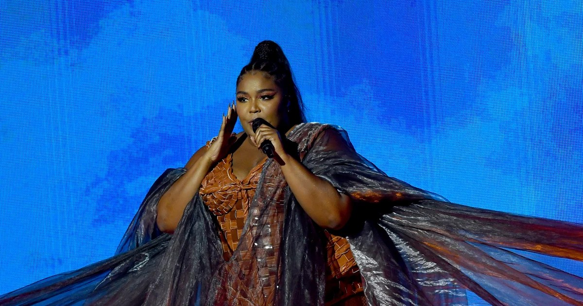 Lizzo Just Closed Out Her 2020 Award Season by Performing Four Songs at the BRIT Awards