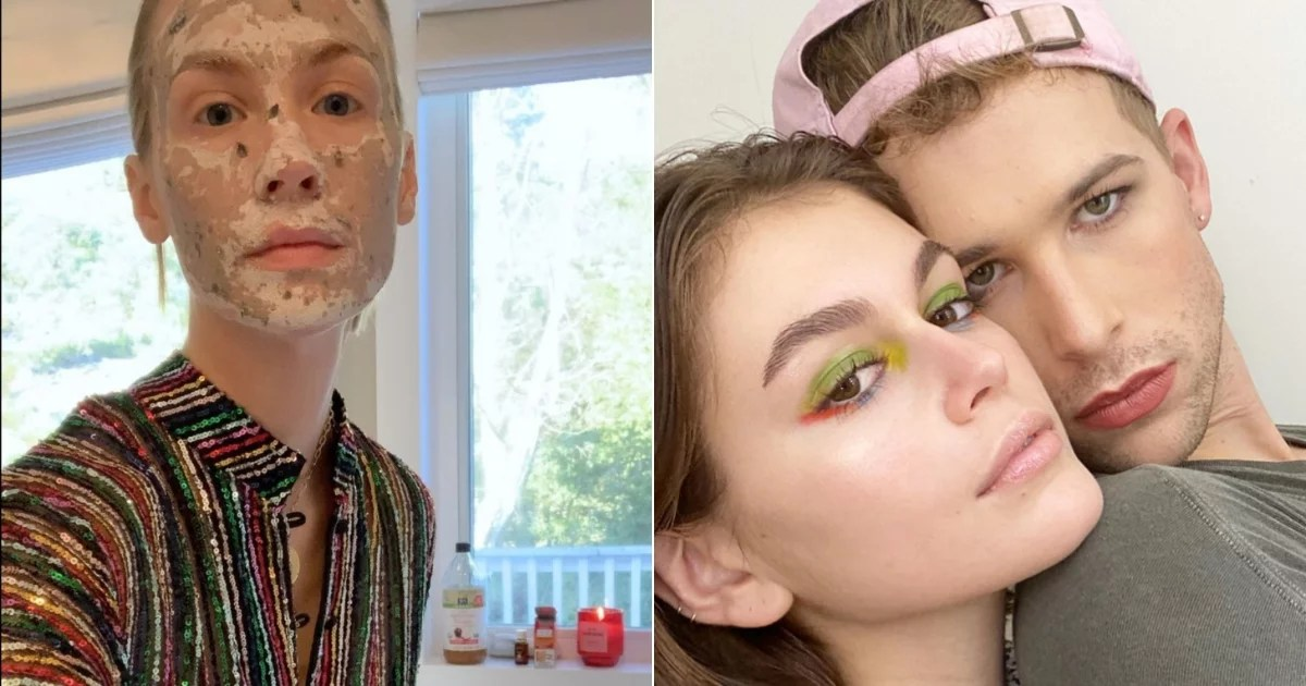 Celebrities Are Giving a Rare Look at Their Beauty Rituals While Isolating, and I Cant Stop Watching