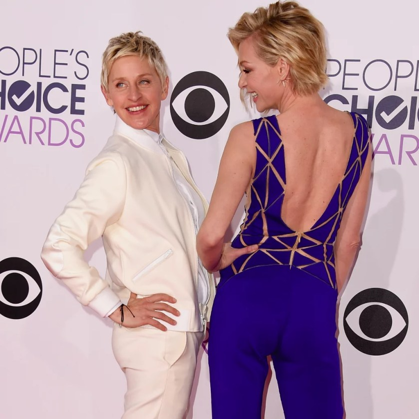 Image result for Ellen Degeneres and portia De Rossi