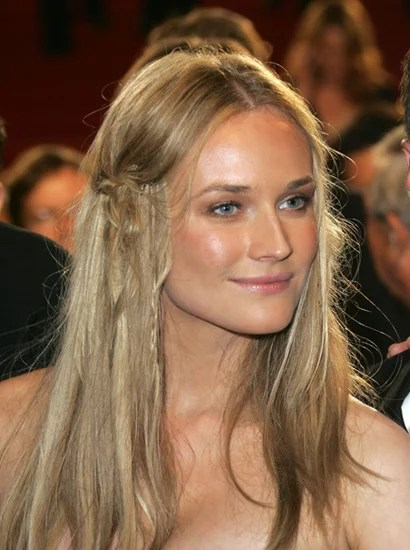 Boho Braids Diane Kruger Hairstyles How To Get 15 Of