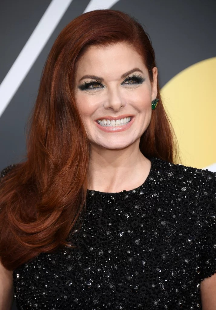 Debra Messing Celebrity Hair And Makeup At The 2018