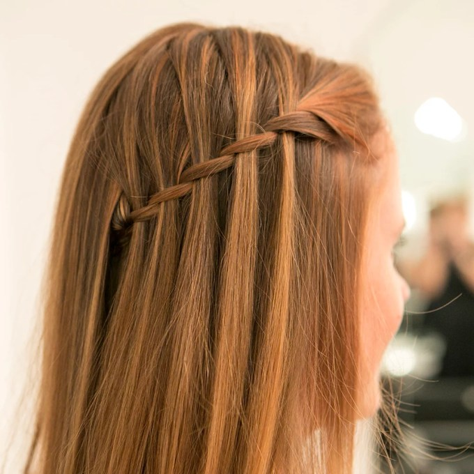 easy waterfall braid tutorial with pictures | popsugar beauty
