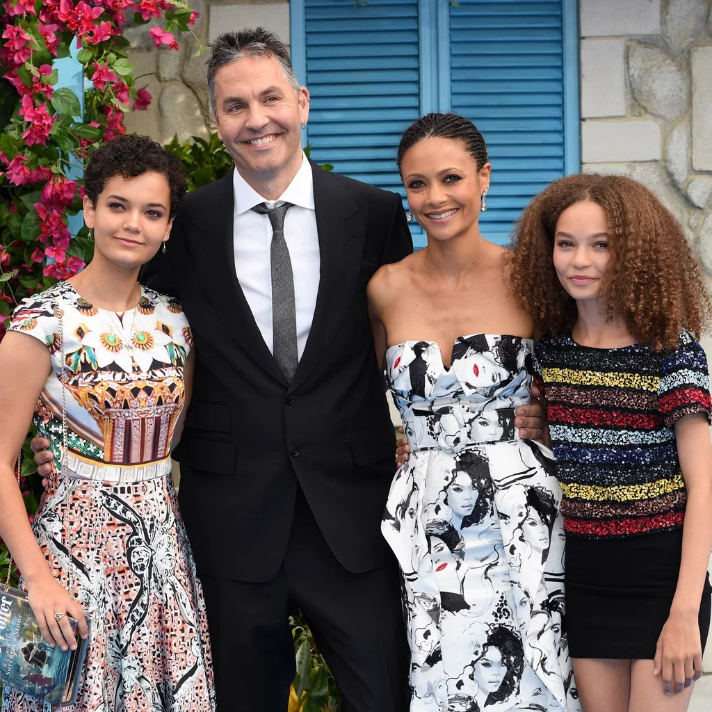 Thandie newton has revealed that she is reverting to the original zimbabwean spelling of her first name, thandiwe. Thandie Newton Family Pictures Popsugar Celebrity