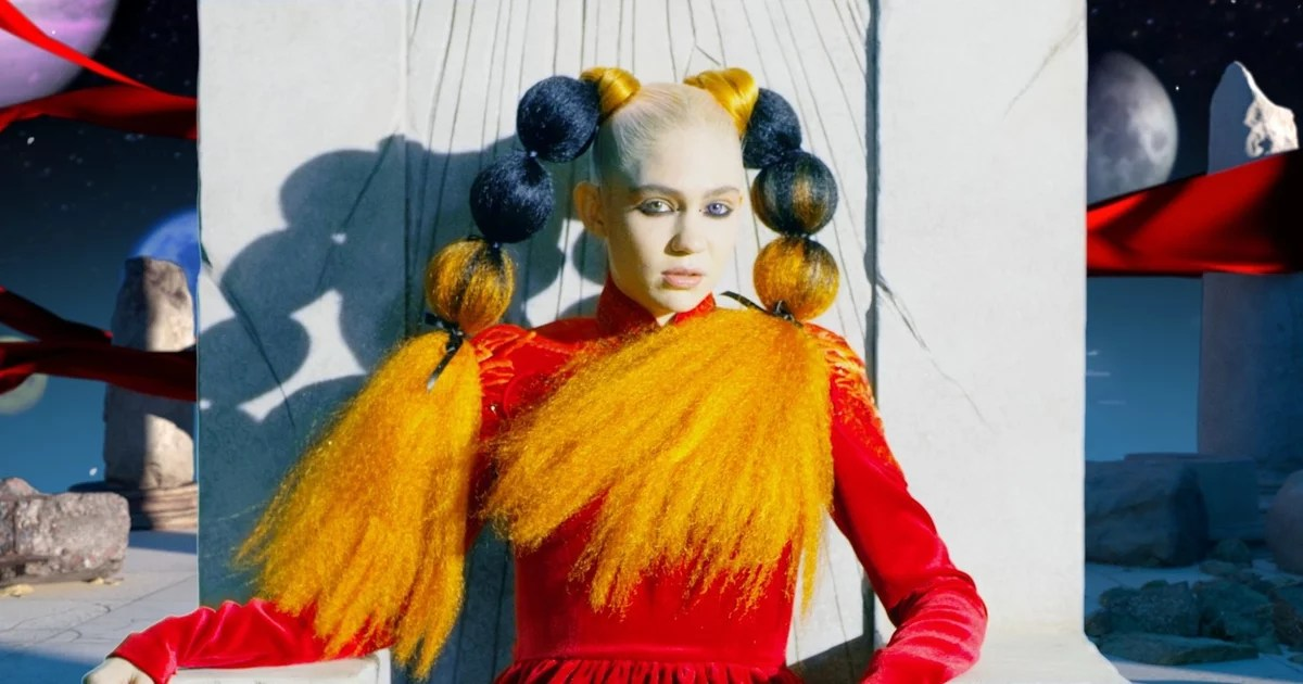 Grimes's New Album, Miss Anthropocene, Gets An 8.2 Ranking, and Twitter Is Going Off