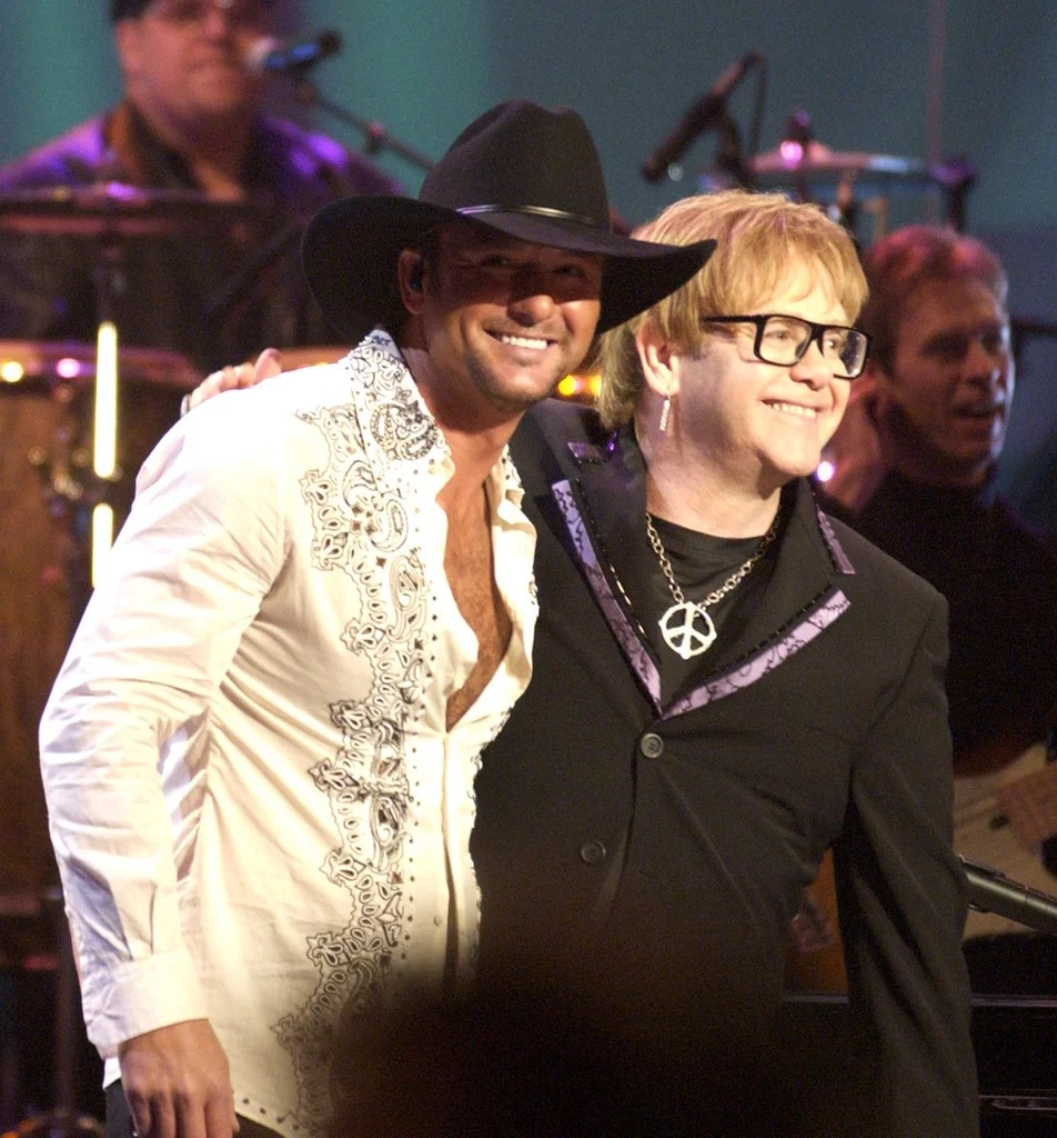 tim mcgraw, elton john