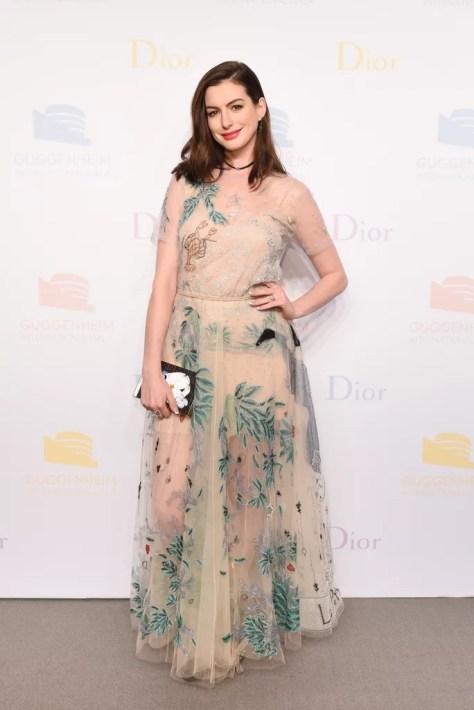 Anne Hathaway Wearing Dior