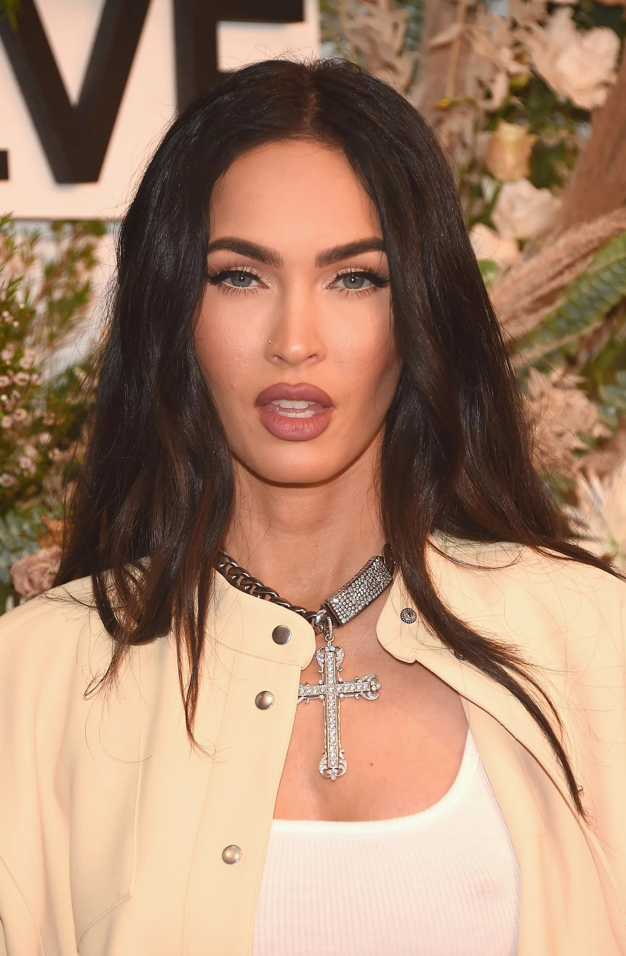 NEW YORK, NEW YORK - SEPTEMBER 09: Megan Fox attends the REVOLVE GALLERY premiere at Hudson Yards on September 09, 2021 in New York City.  (Photo by Gary Gershoff / Getty Images)