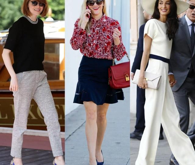 Modest Celebrity Fashion