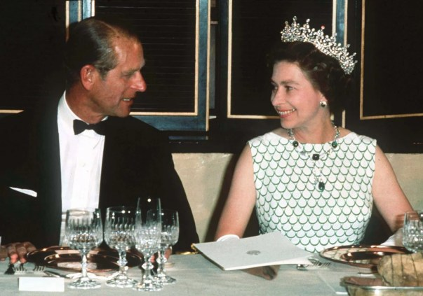 There's Pie photo of young queen Elizabeth and duke of Edinburgh