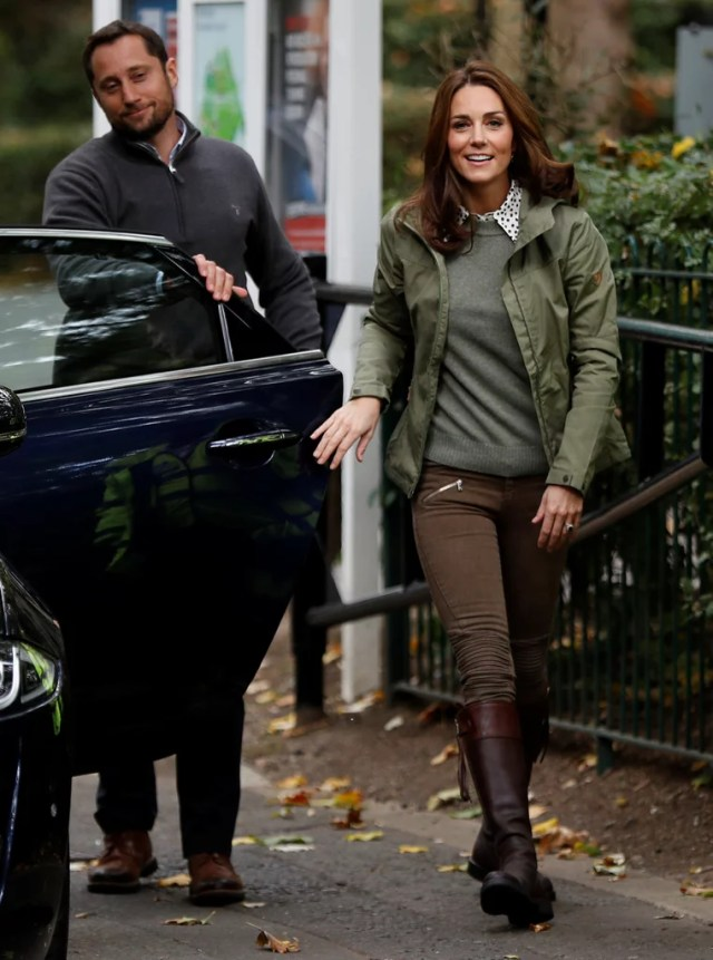 Kate Middleton Haircut After Maternity Leave October 2018