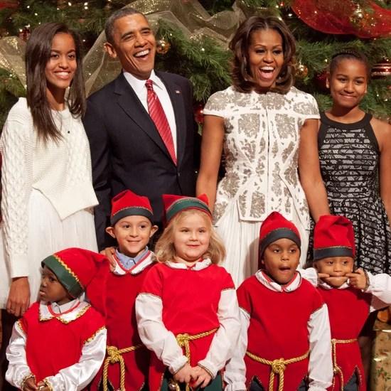 President Obama Christmas Card 2016