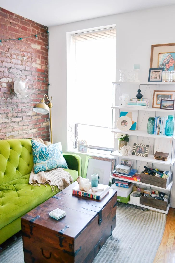 Decorating Tips to Maximize a Small Space | POPSUGAR Home ... on Small Space Small Living Room Ideas  id=63020