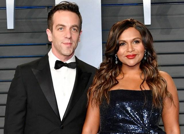 Are Mindy Kaling And B J Novak Dating