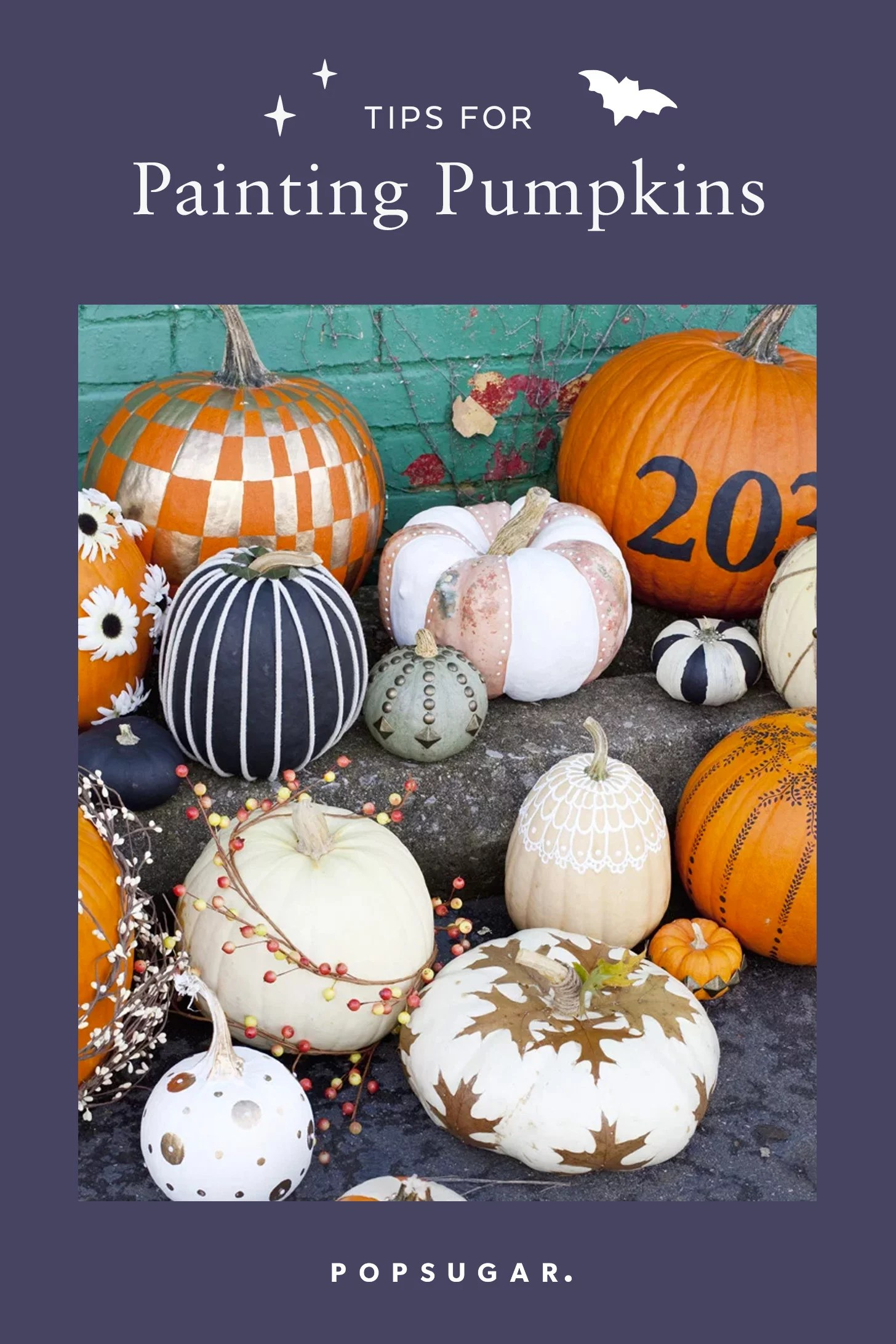 Tips For Painting A Pumpkin Like A Pro Popsugar Home