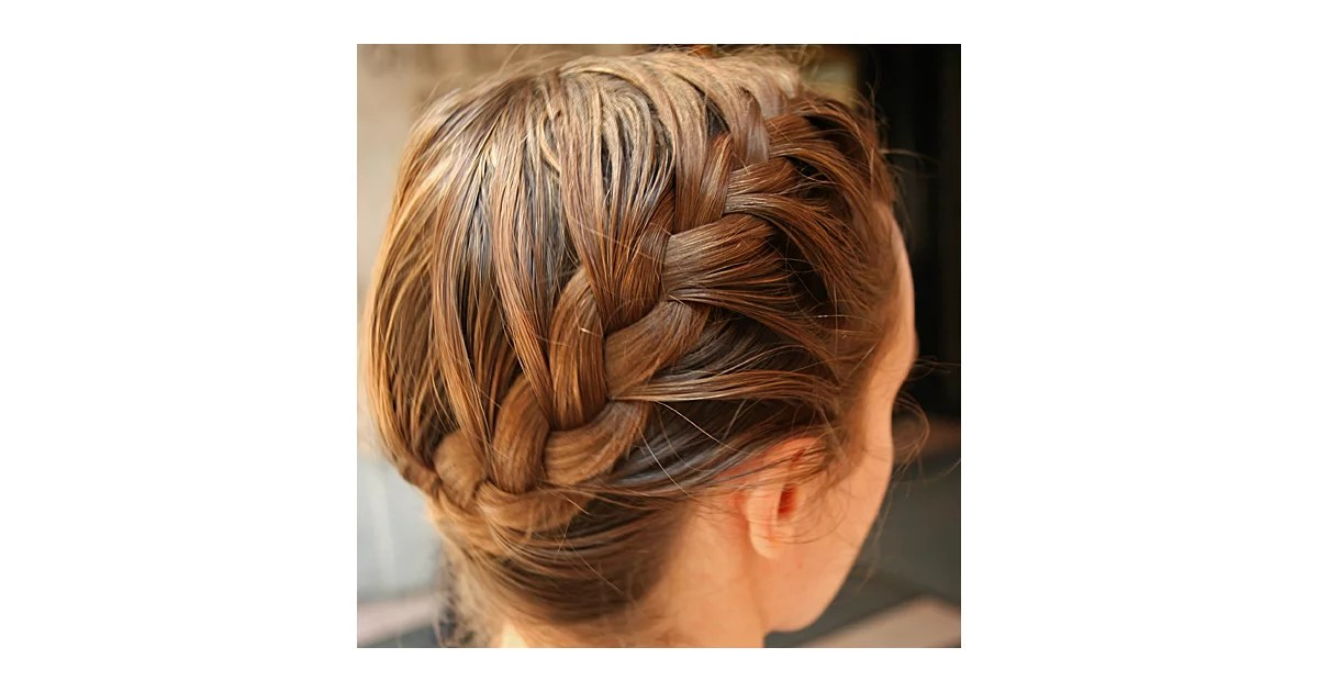 Pin This The 5 Step Side Plait POPSUGAR Beauty UK
