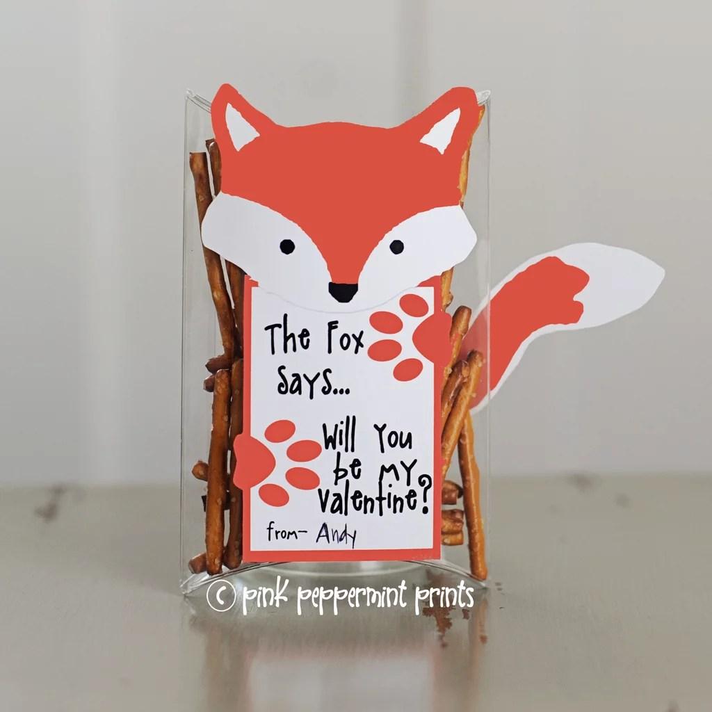Diy Printable School Valentine S Day Cards For Kids