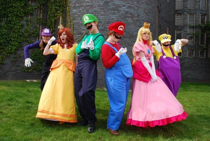 Peach Toad Waluigi Daisy Toadette Wario And Luigi Mario