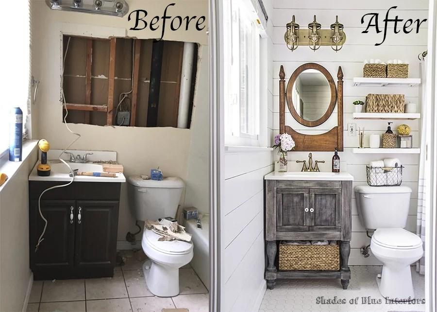 Farmhouse Bathroom Makeover POPSUGAR Home