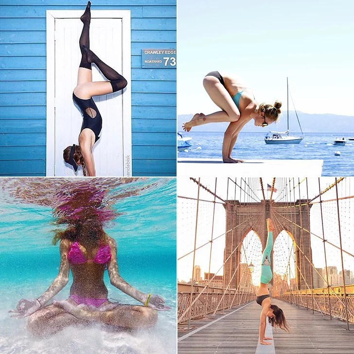Yoga on Location: Let These Amazing Women Inspire You to Take Your Yoga Outside
