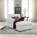 Large Classic Linen Fabric Living Room Chaise Lounge Most