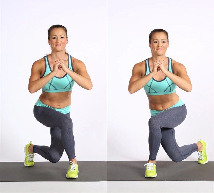 How to Do a Curtsy Lunge | POPSUGAR Fitness