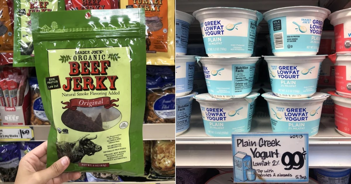 12 Low-Carb Snacks You'll Want to Add to Your Cart at Trader Joe's