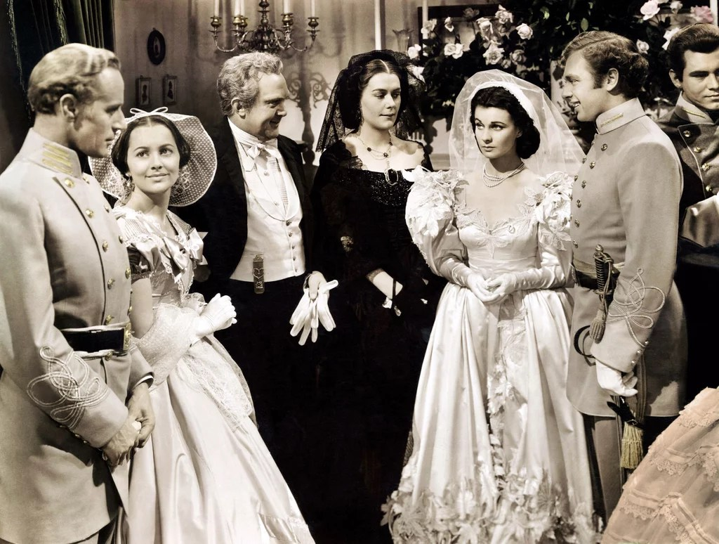 Gone With The Wind Best Movie Wedding Dresses POPSUGAR