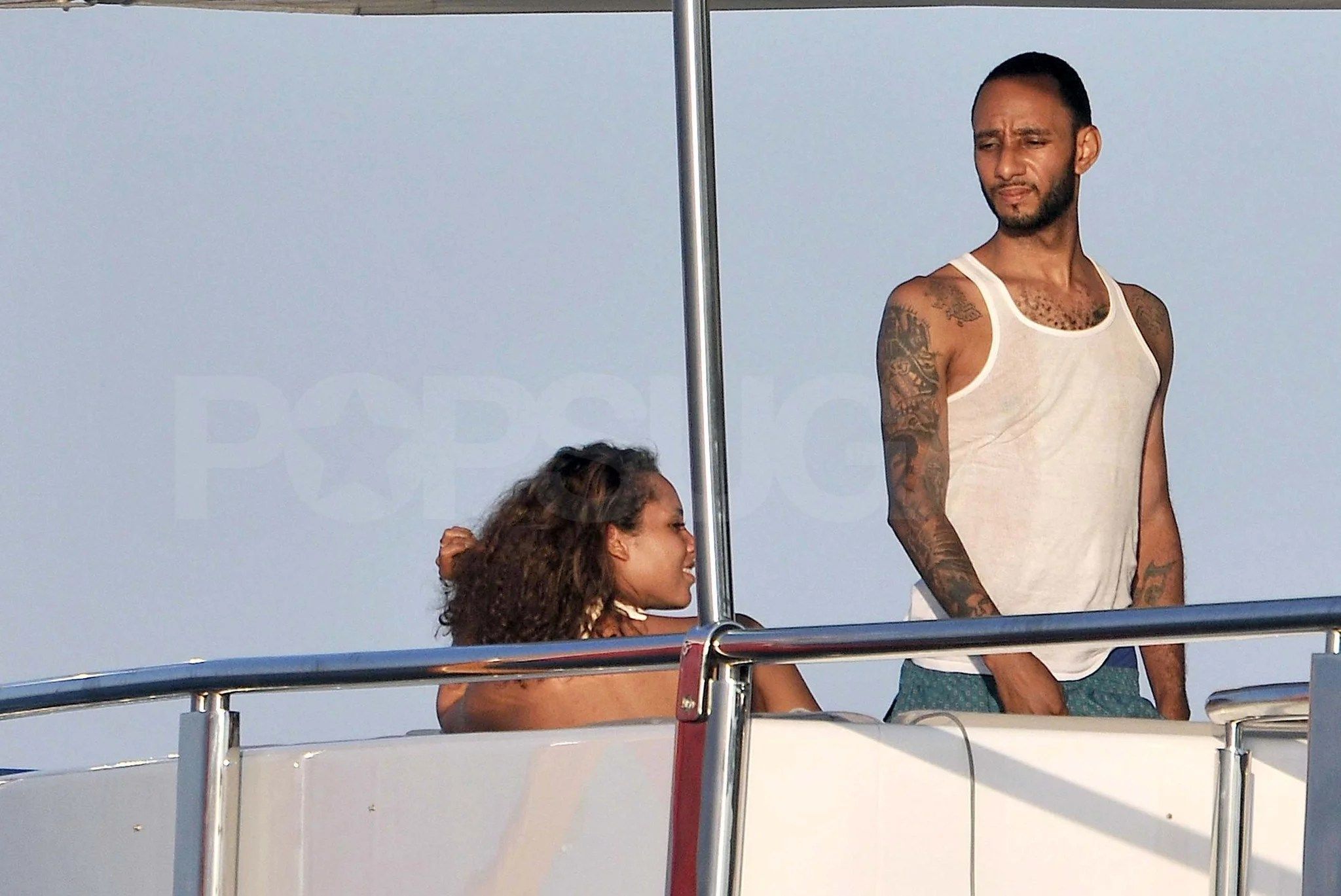 Pictures Of Alicia Keys Pregnant In Bikini On Yacht