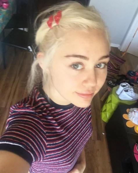 Miley Cyruss Bangs Spring 2016 POPSUGAR Beauty