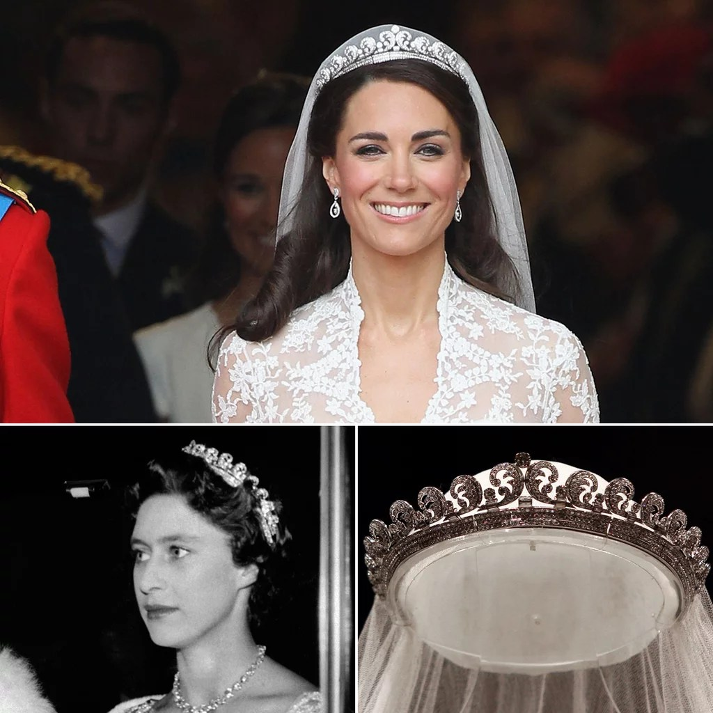 The Halo Tiara Kate Middletons Jewelry POPSUGAR