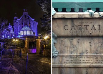 9 Hidden Easter Eggs to Look For While Waiting in Line For Disney's Haunted Mansion